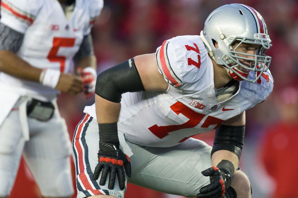 Ohio State's Reid Fragel could be a good fit for the Bears, Panthers, or Saints.