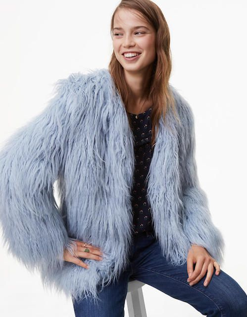 Loft Plush Jacket, $168