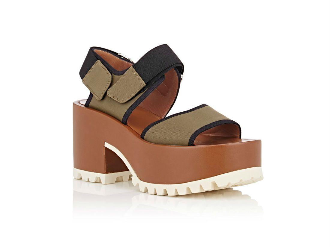 Marni Chunky-Heel Neoprene Sandals