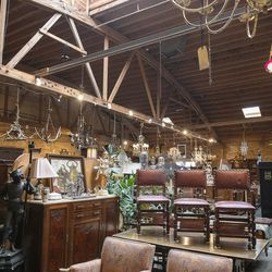 Hundreds of antiques piled around at Olde Chicago Antiques, in Avondale. Most of the Antiques are sourced from Europe and some are about 400 years old.   Tyler LaRiviere/Sun-Times