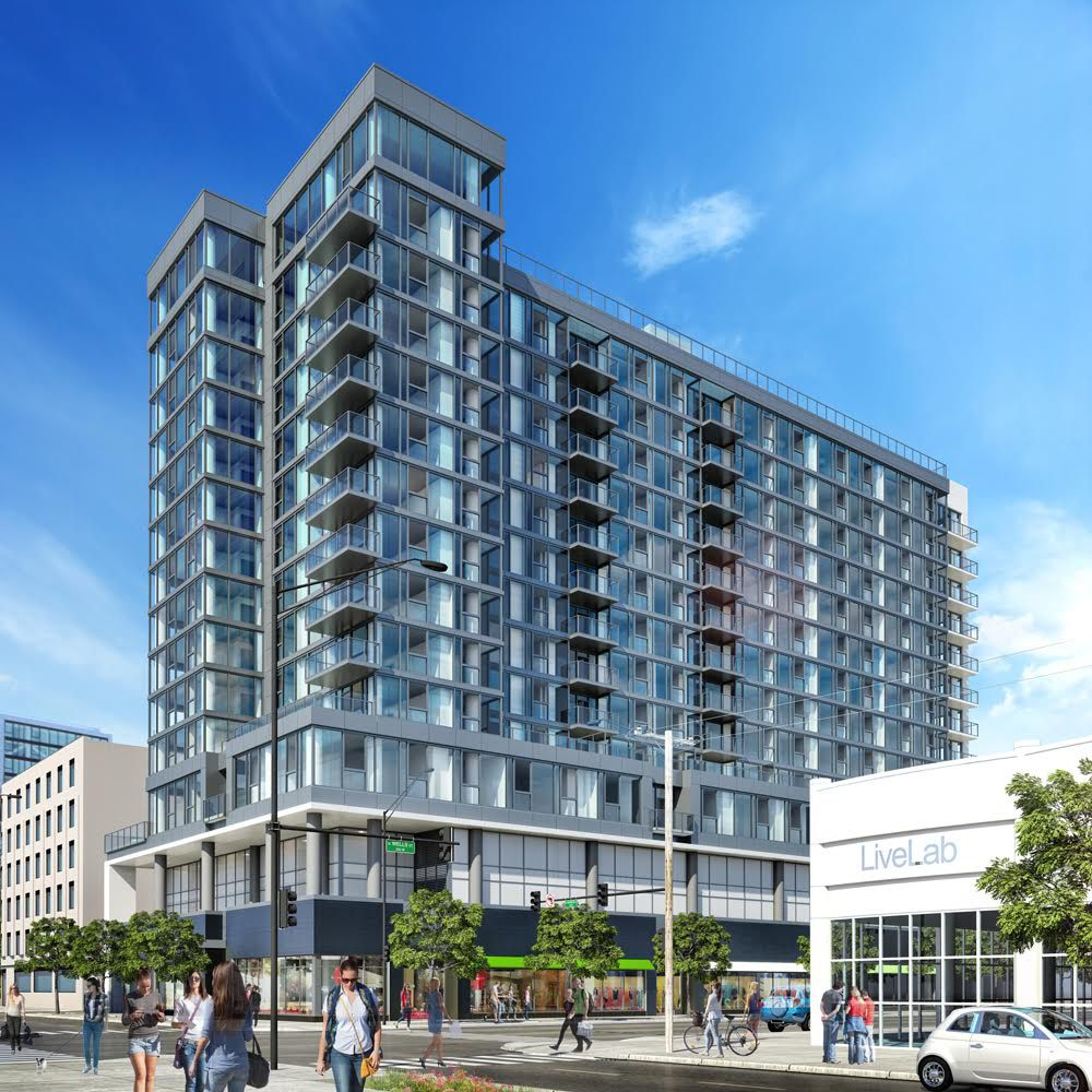 work to start on river north s marlowe apartment tower curbed chicago. Black Bedroom Furniture Sets. Home Design Ideas