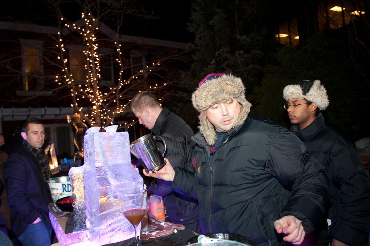 Ice Bar 2012 at The Portland Harbor Hotel.