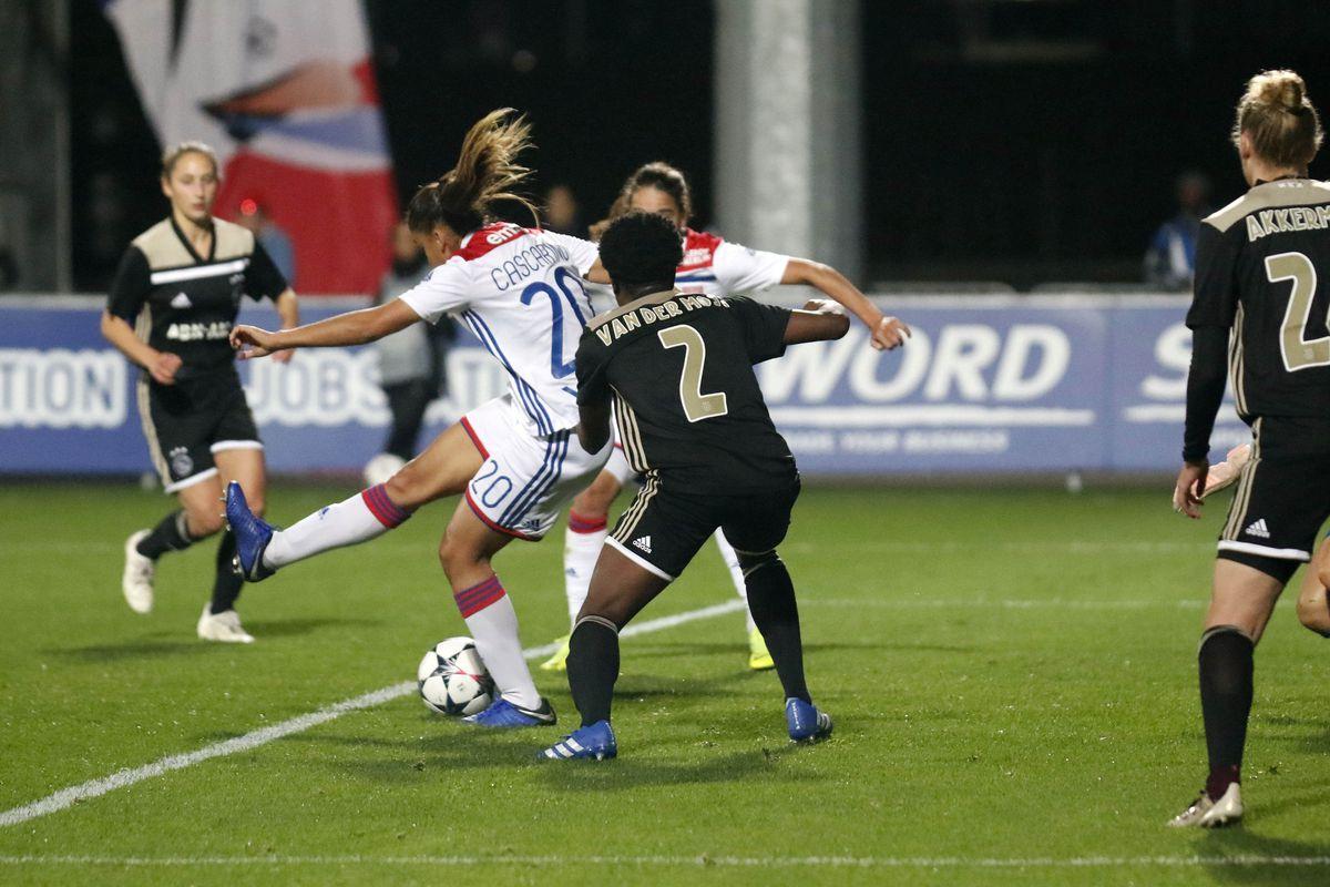 Olympique Lyonnais v Ajax Amsterdam - UEFA Women's Champions League