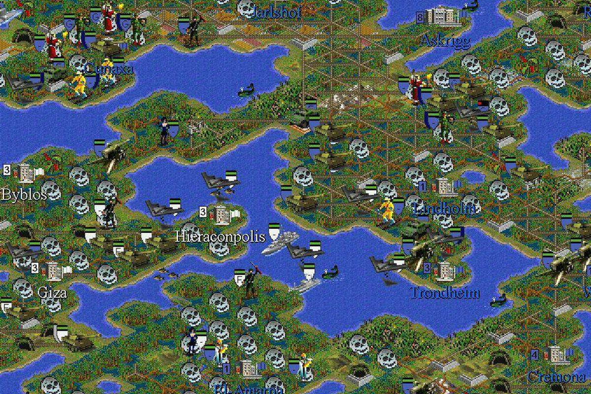 10-year game of 'Civilization II' results in mass famine