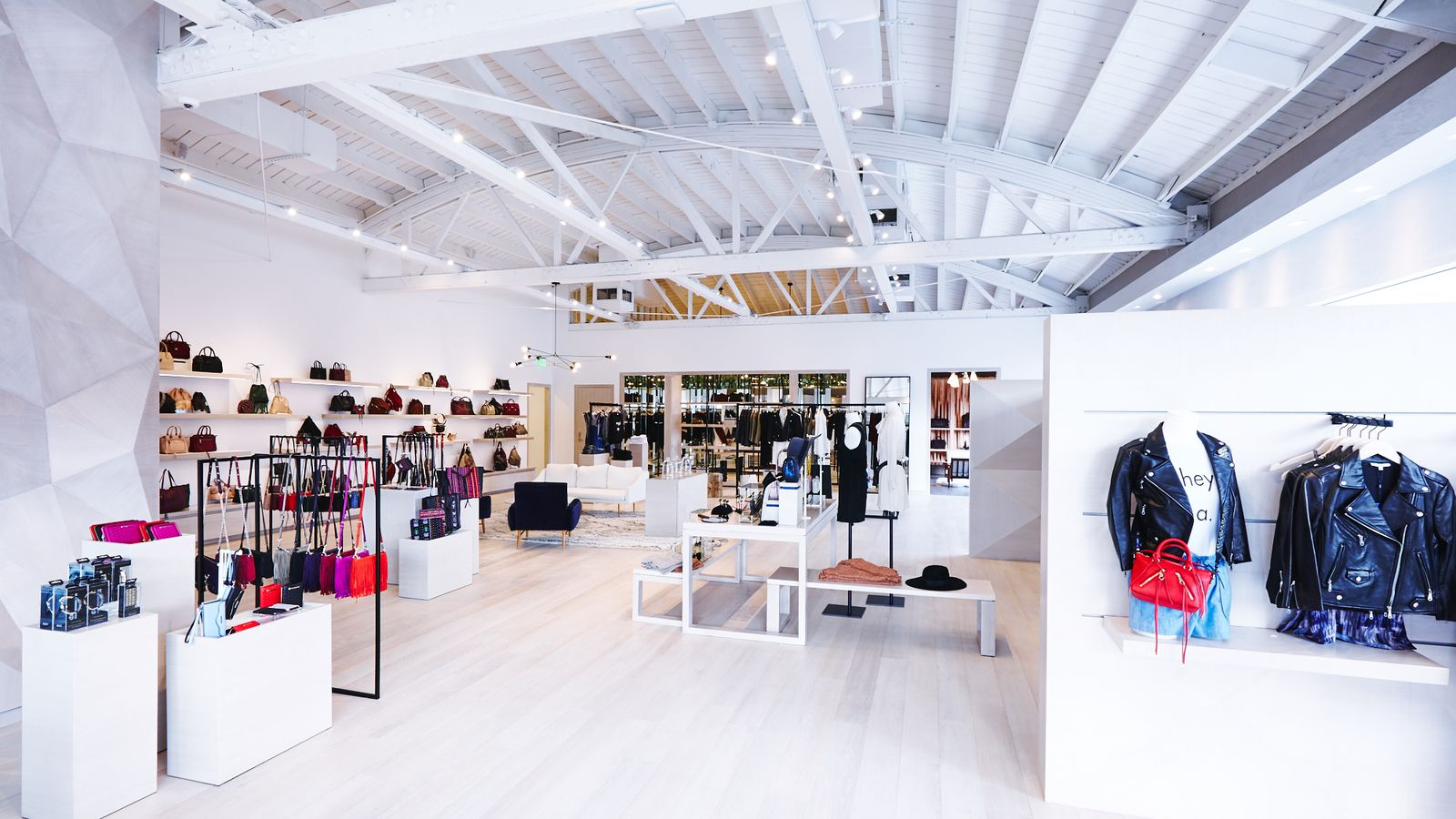 Photos Rebecca Minkoff S High Tech Melrose Shop Is The