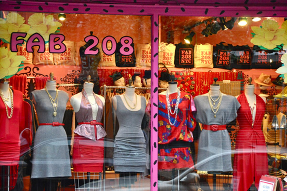 """Cheery windows in the East Village.  Image via <a href=""""http://www.flickr.com/photos/essgee/3868975877/in/pool-rackedny"""">EssG</a>/Racked Flickr Pool"""