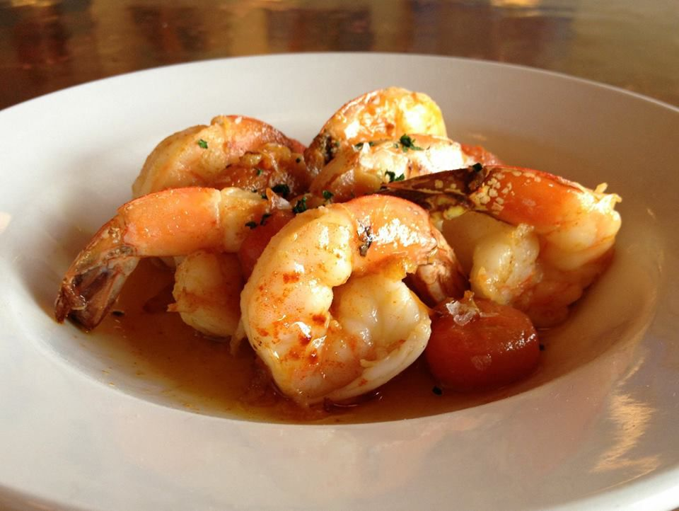Shrimp from Cafe Malta