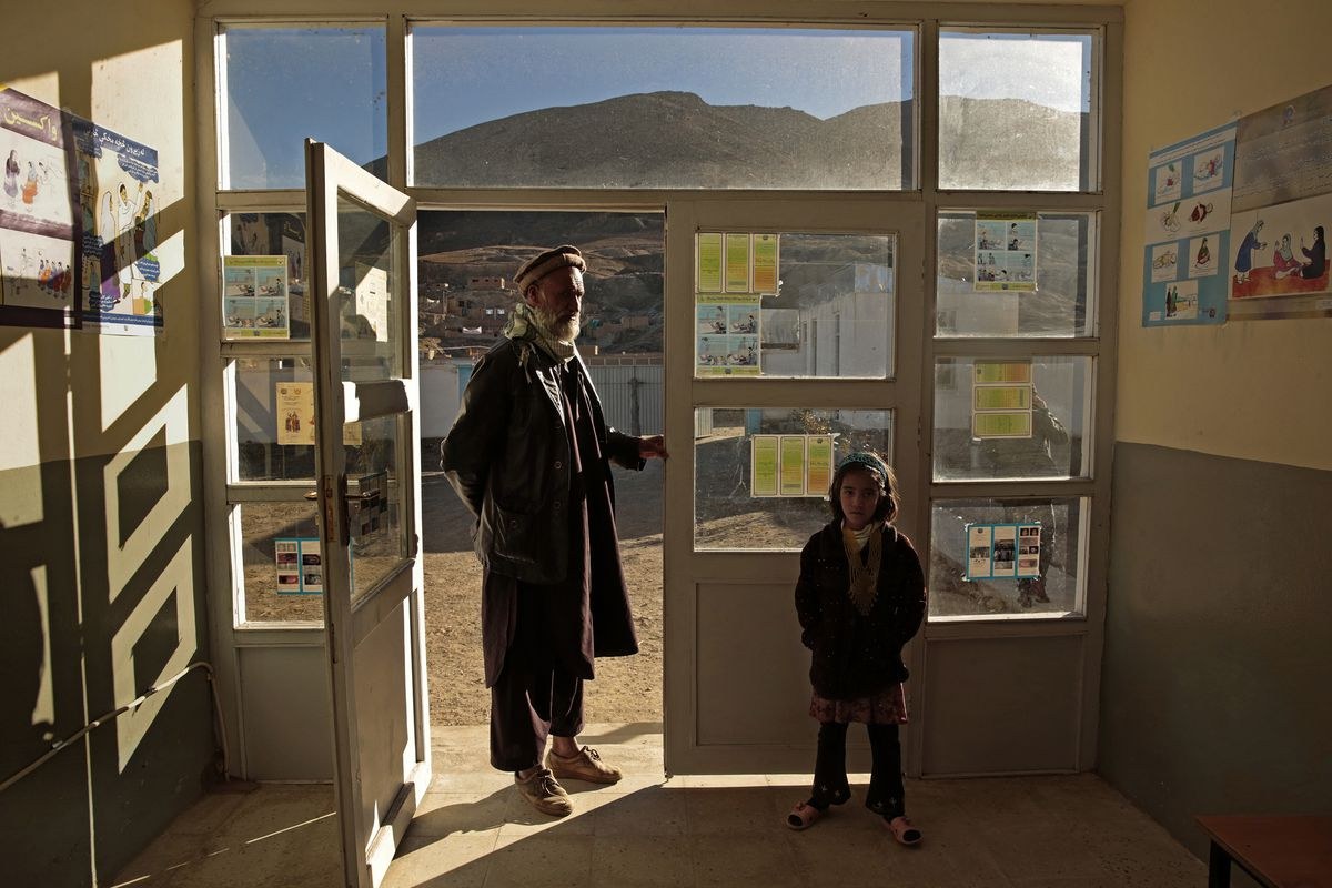 In village of Walayatti, near Kabul, $194,572 of US taxpayer funds was spent to build an 11-room medical clinic to provide basic health care for the 7,000 inhabitants of the village.