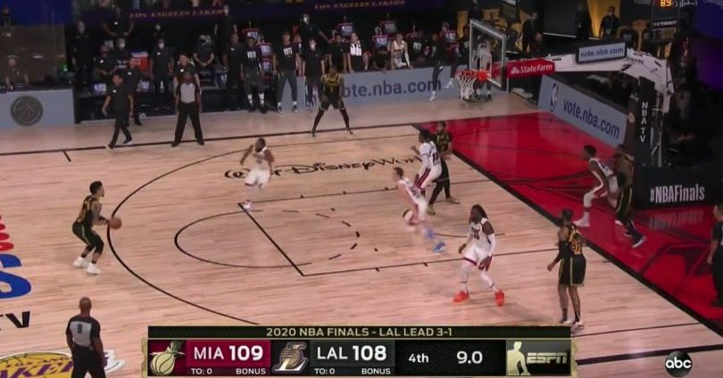 Danny Green Missed A Wide Open Three To Win Lakers The 2020 Nba Finals Sbnation Com