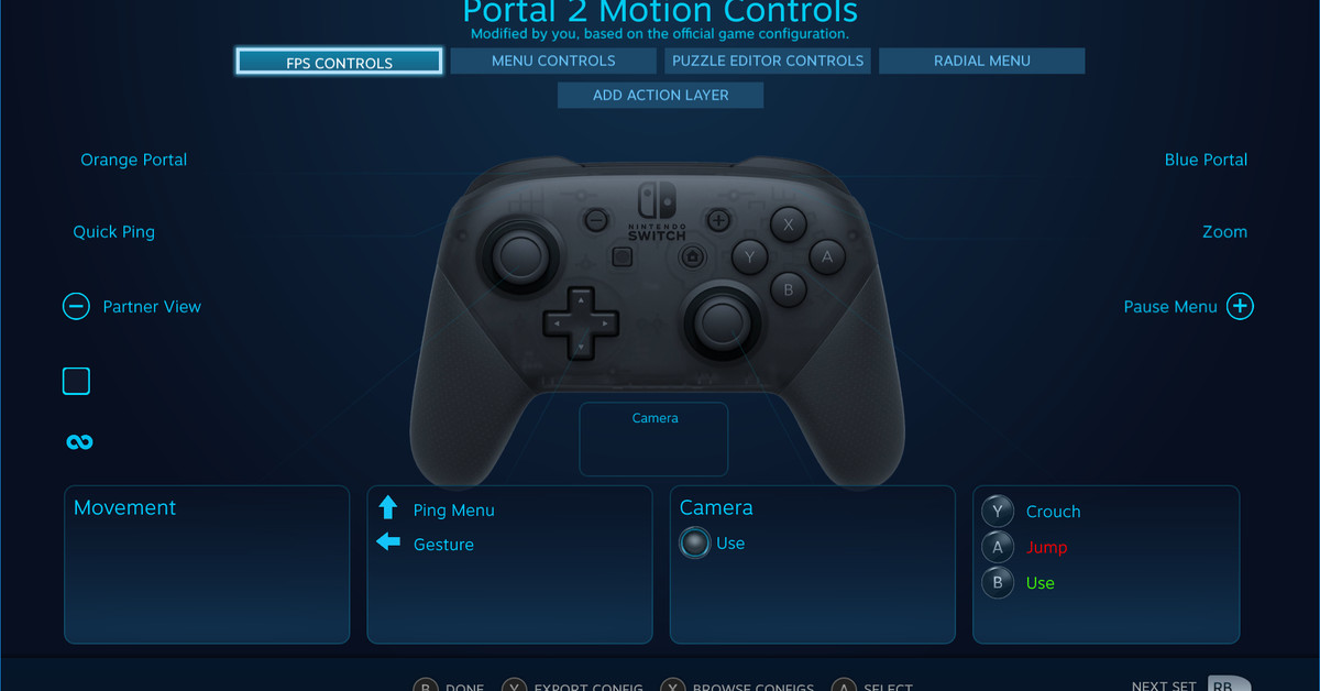 Nintendo Switch Pro Controller is supported on Steam - Polygon