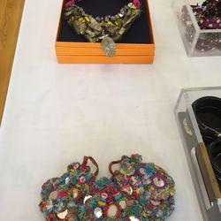 Necklaces, $65 each
