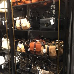 A selection of remaining handbags