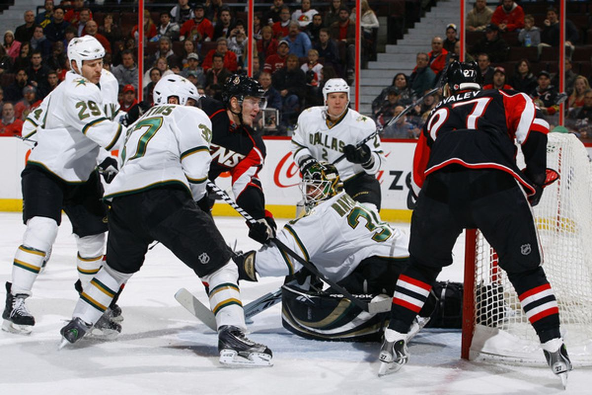 Hey look....the Stars actually outnumbered the Senators around the net!