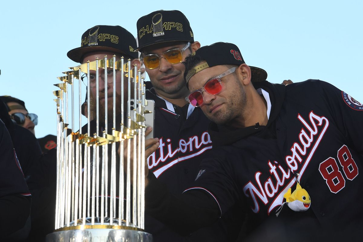 World Series 2019 champion Washington Nationals parade