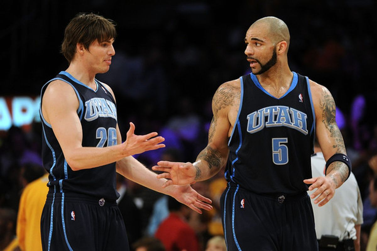 competitive price 9d664 ed2b3 Kyle Korver Joins Carlos Boozer In Chicago - SLC Dunk