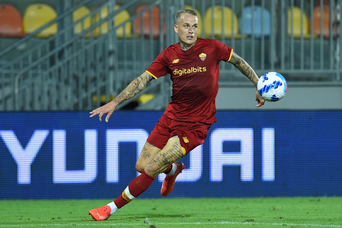 Football friendly match AS Roma - Debrecen