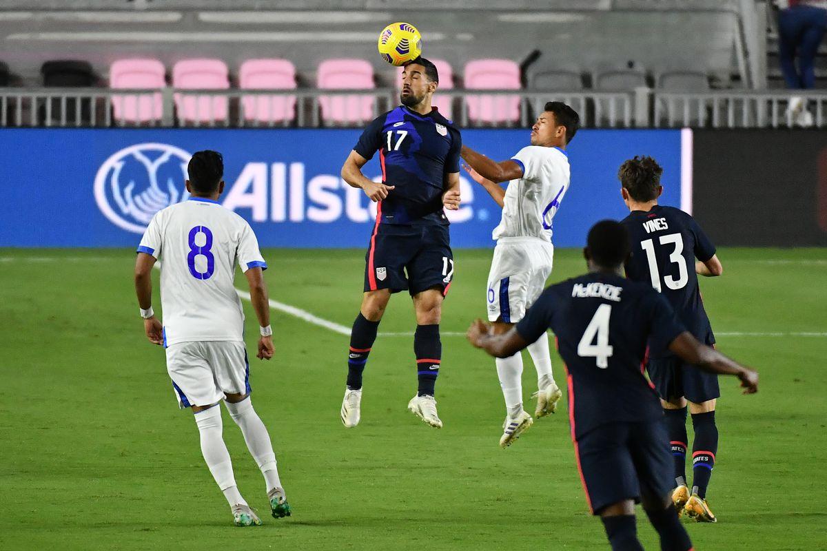 Soccer: International Soccer-El Salvador at USA