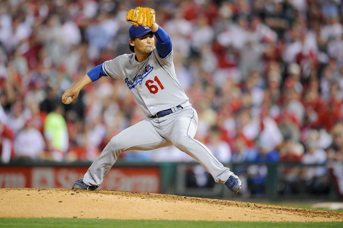 Los Angeles Dodgers v Philadelphia Phillies, Game 1
