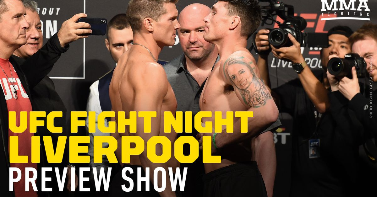 UFC Liverpool preview show