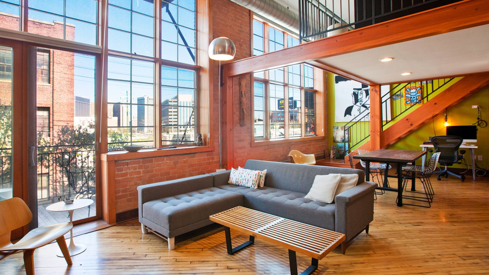 First Look Grinnell Place Loft In Corktown With Skyline
