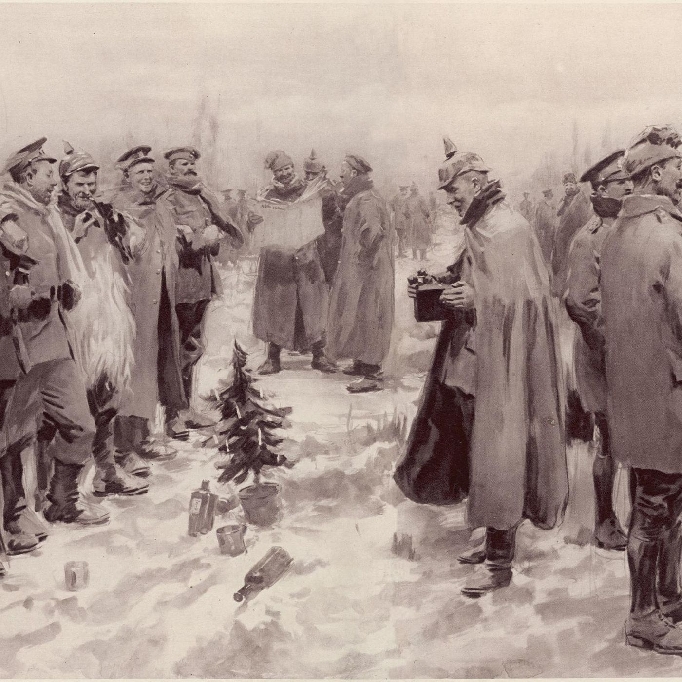 in 1914 soldiers celebrated christmas by temporarily calling off world war i vox - Wwi Christmas Truce
