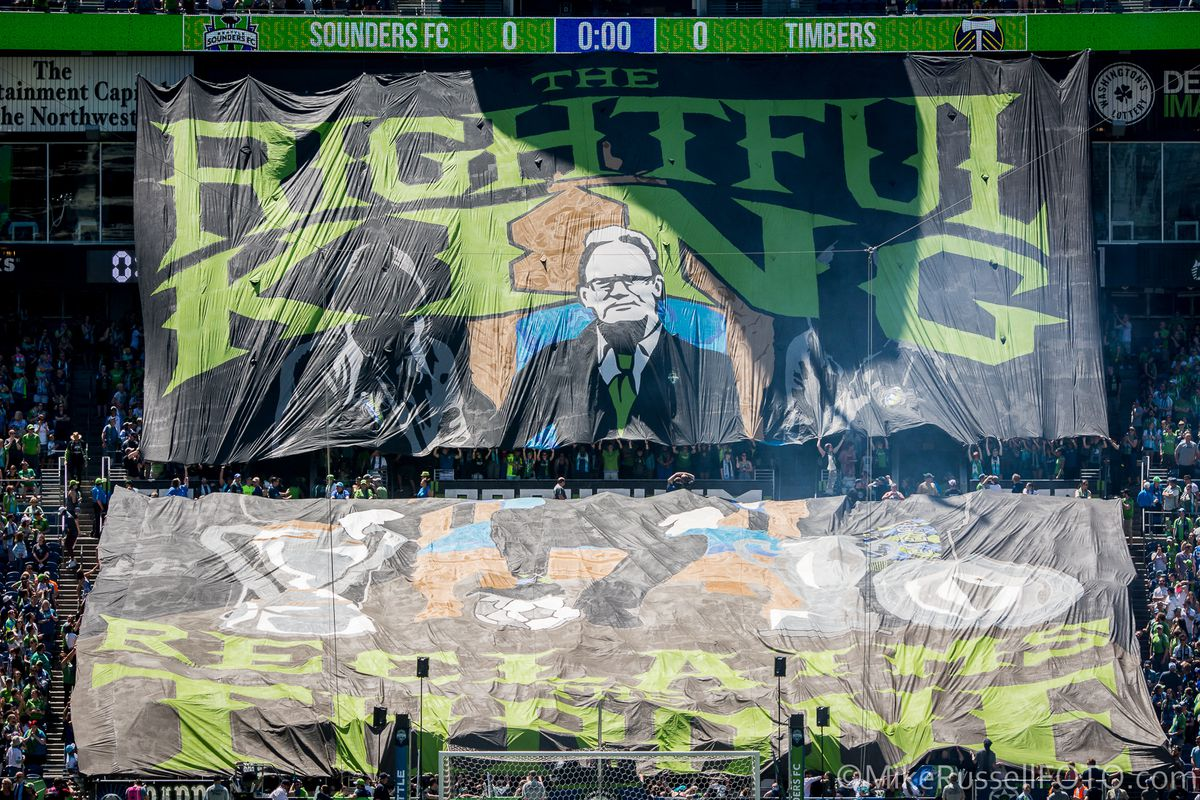 Sounders vs. Timbers, May 27, 2017