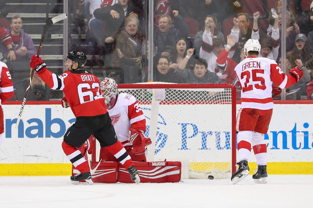 new product ca482 dd2f2 Gamethread #46: New Jersey Devils vs. Detroit Red Wings ...
