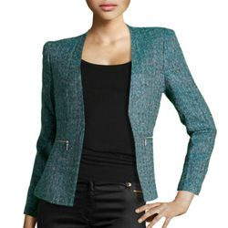 "<b>H&M</b> blazer, <a href=""http://www.hm.com/us/product/04122?article=04122-A"">$49.95</a>"