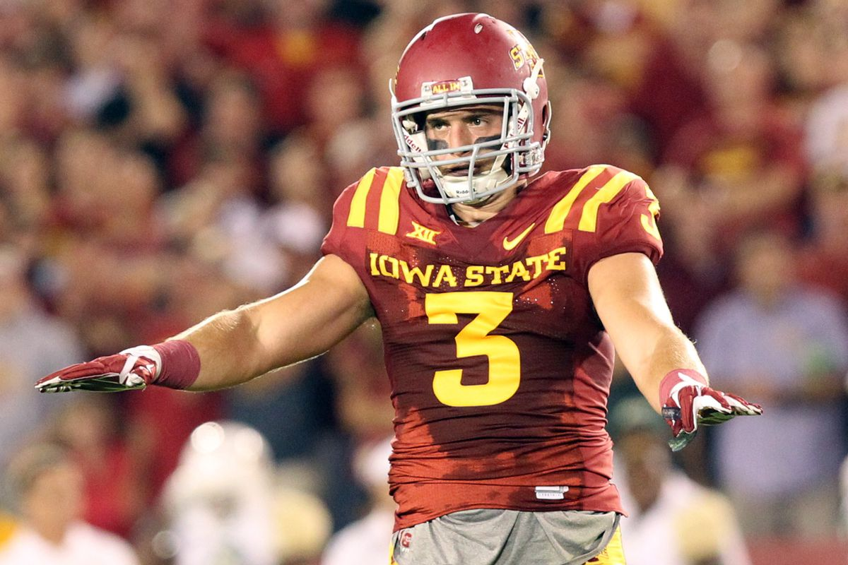 The Iowa State secondary will look to lock down Daxx Garman's opportunities Saturday.