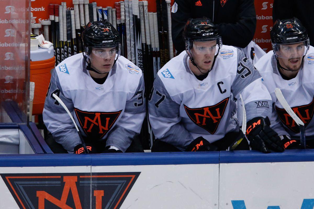 Hockey: World Cup of Hockey-Team Finland vs Team North America
