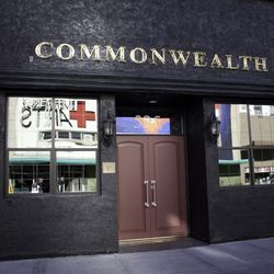 The front of Commonwealth.