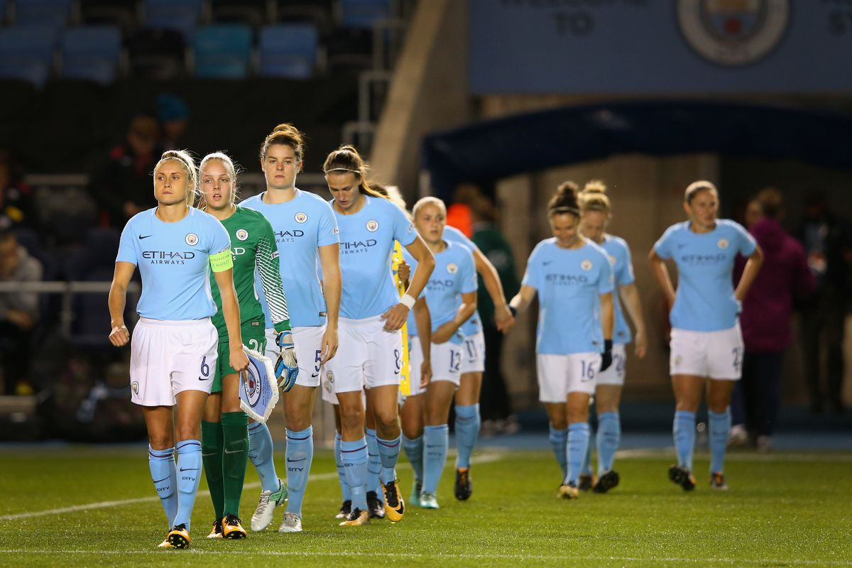Manchester City Ladies v St. Polten Ladies: UEFA Women's Champions League