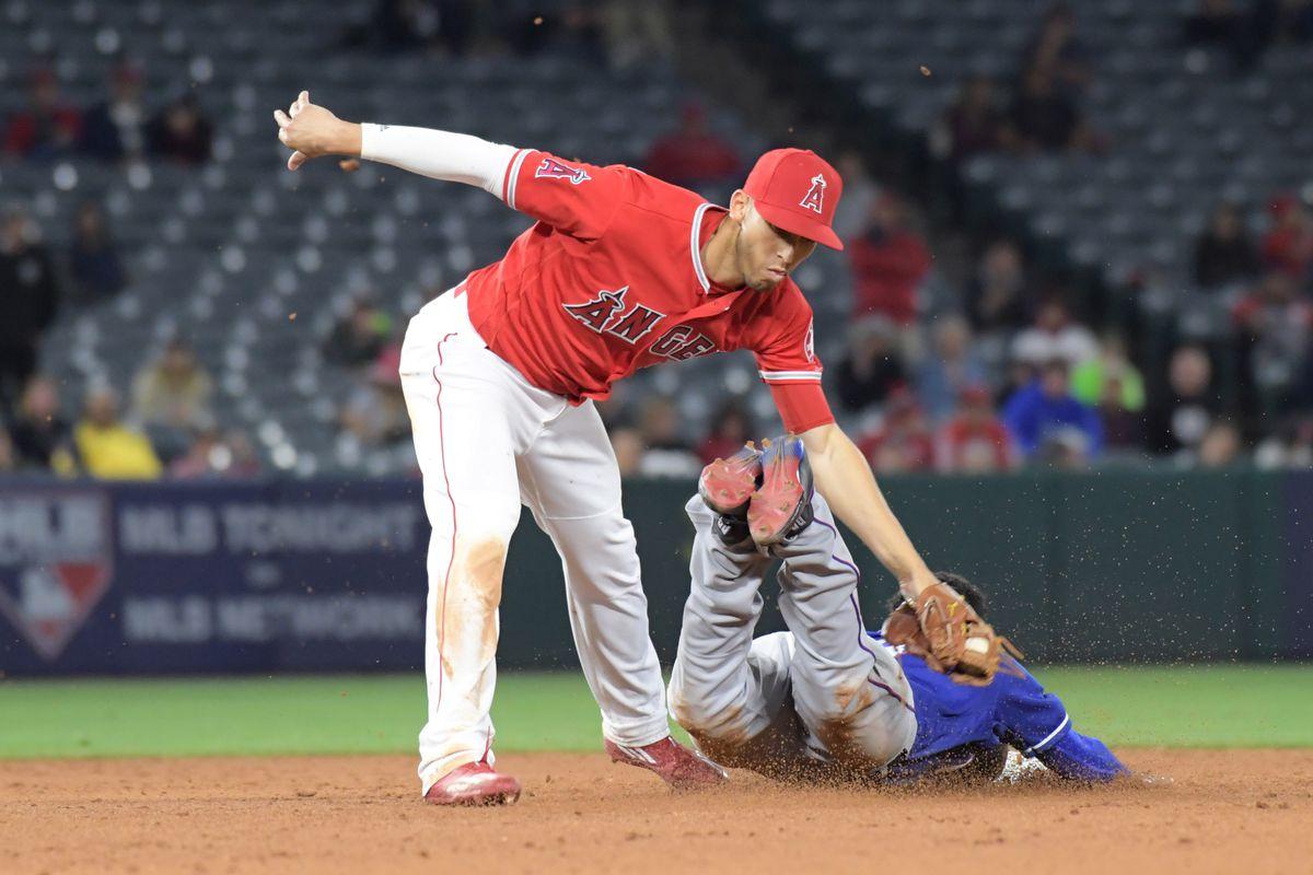 MLB: Texas Rangers at Los Angeles Angels