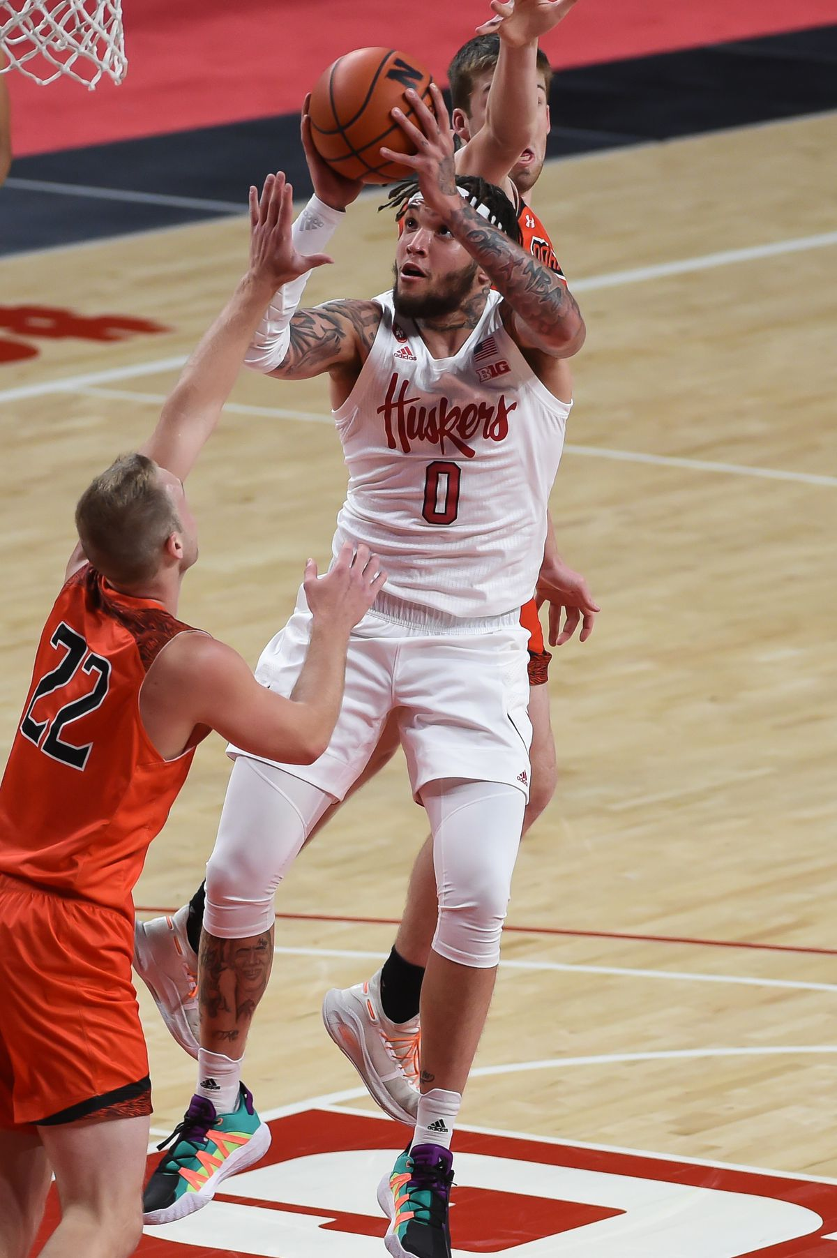 NCAA Basketball: Doane at Nebraska