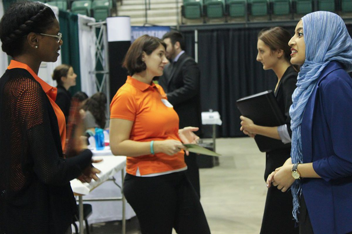 Eastern Michigan University's traditional teacher certification program is on the list of teacher pipelines for Detroit's main district. So are alternative programs with far fewer requirements. At an EMU hiring fair, teachers said they are having no trouble finding jobs.