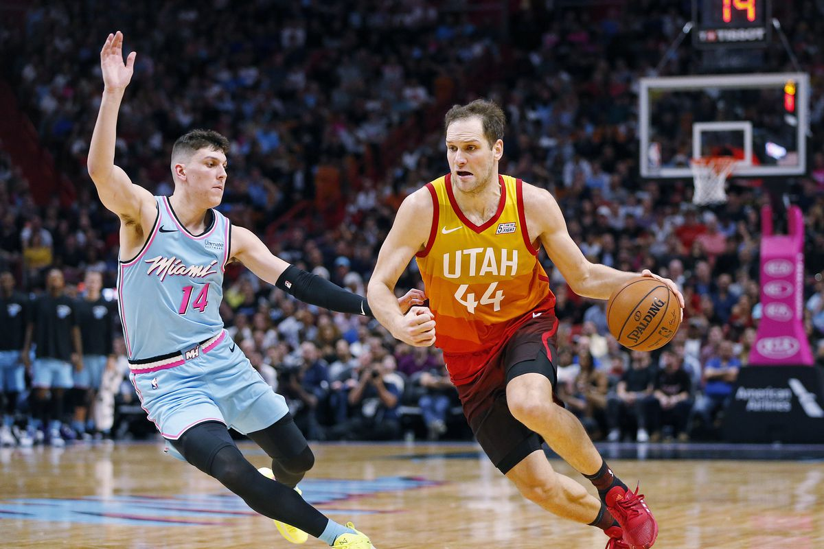 Utah Jazz Fall To Miami Heat 107 104 On The Road Deseret News
