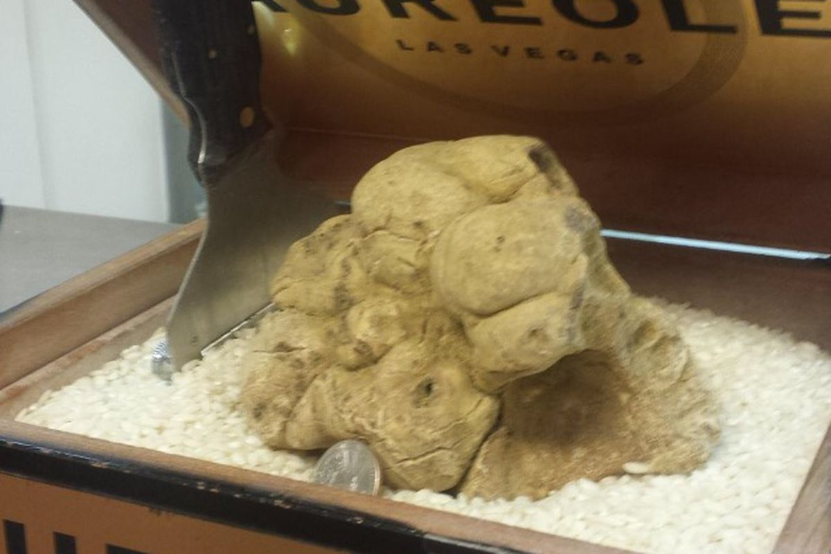 The one-pound white truffle at Aureole
