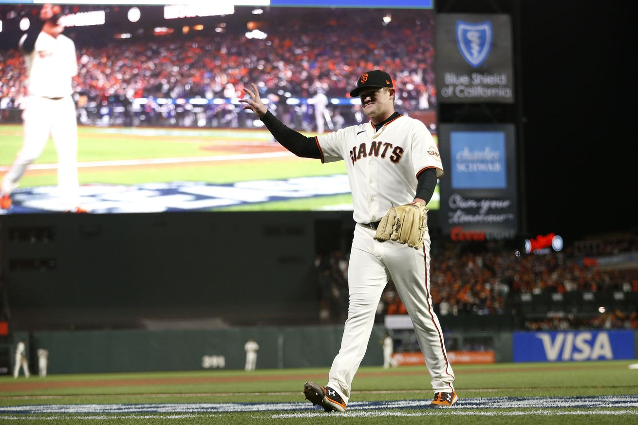 MLB: NLDS-Los Angeles Dodgers at San Francisco Giants