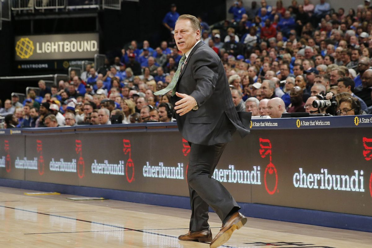 NCAA Basketball: Champions Classic-Kansas at Michigan State