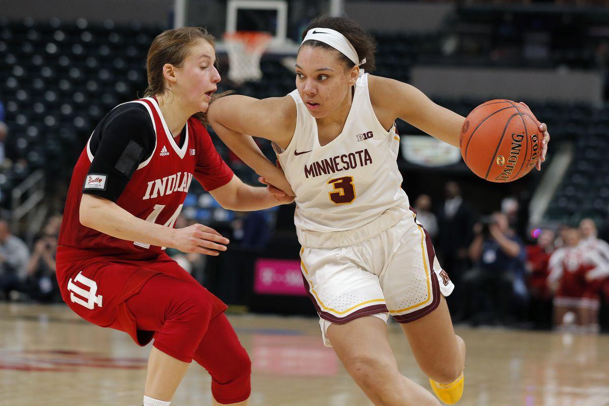 COLLEGE BASKETBALL: MAR 07 Big Ten Conference Women's Tournament - Indiana v Minnesota