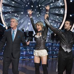"""DANCING WITH THE STARS - """"Episode 2510"""" - After weeks of stunning competitive dancing, the final four couples advance to the finals of """"Dancing with the Stars,"""" live, MONDAY, NOV. 20 (8:00-10:01 p.m. EST), on The ABC Television Network."""