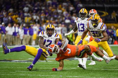 COLLEGE FOOTBALL: JAN 13 CFP National Championship - LSU v Clemson