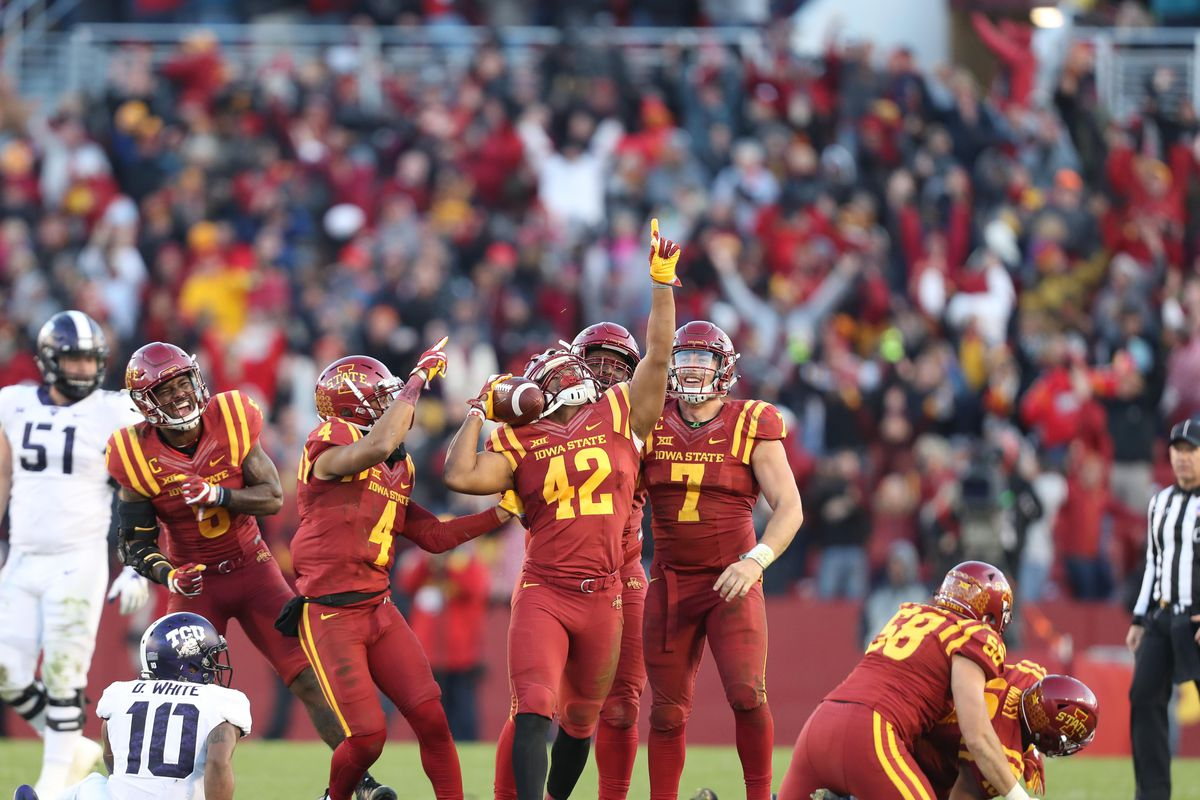 Iowa State Ranked 15 In First College Football Playoff Poll Wide