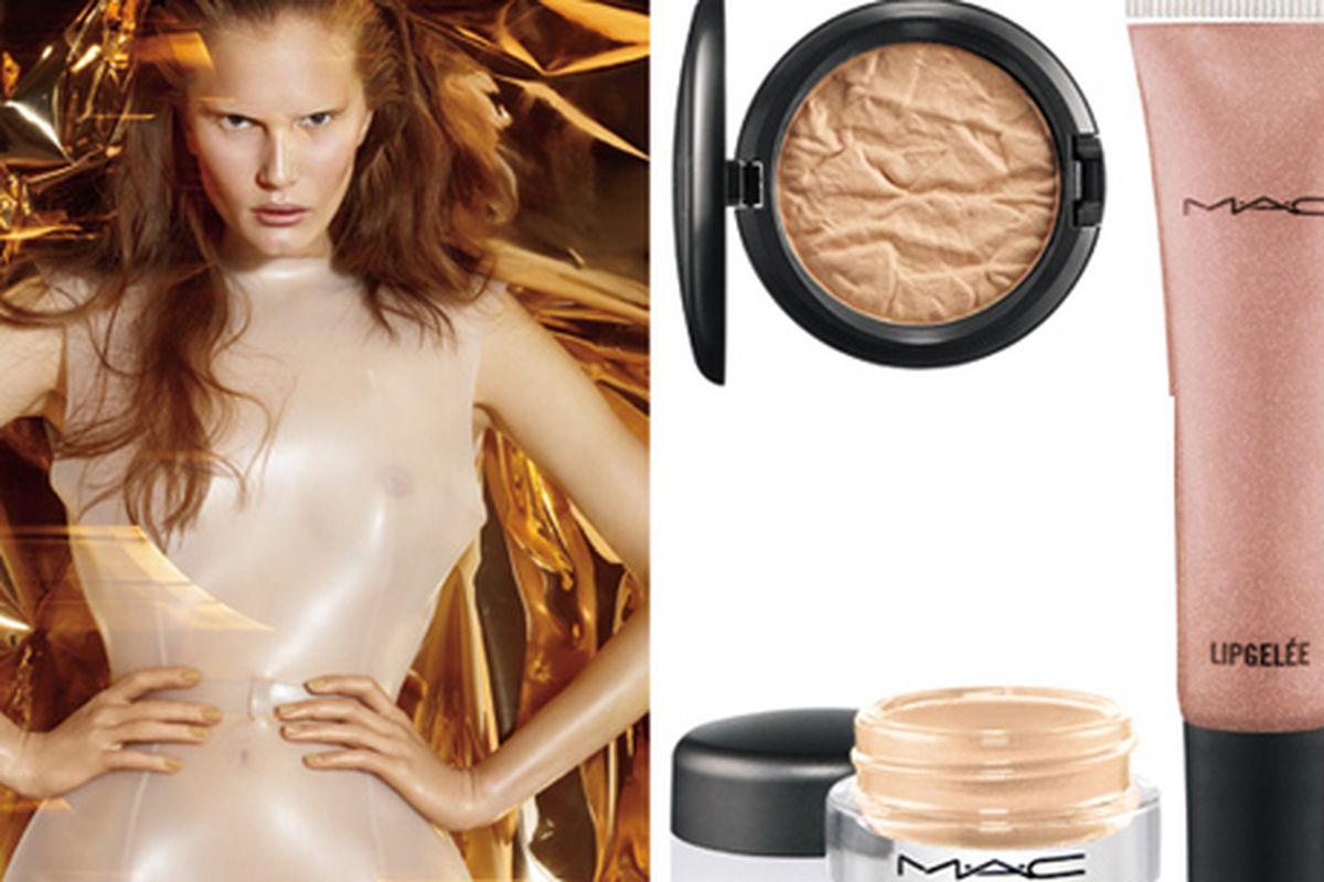 """Ring in 2011 with a little Cham Pale from MAC Cosmetics. Image via <a href=""""http://www.refinery29.com/everywhere/beauty/new-beauty-products/"""">Refinery 29</a>."""