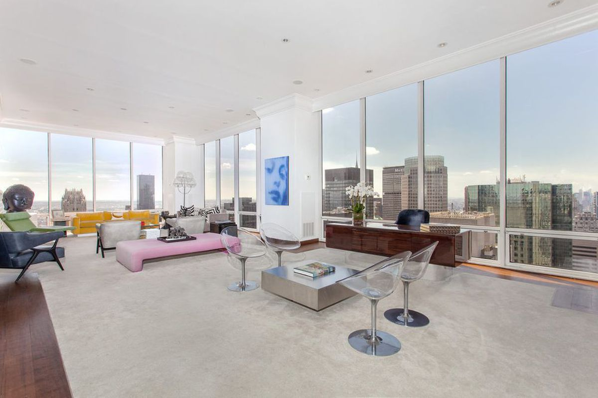 Gucci Family S Olympic Tower Penthouse Returns For 35m Curbed Ny
