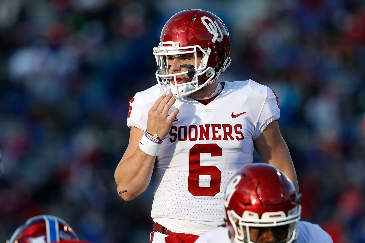 Mayfield is Big 12's top offensive player for 2nd time