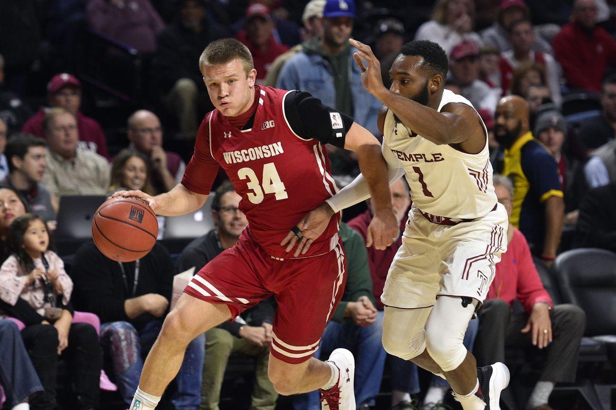 NCAA Basketball: Wisconsin at Temple