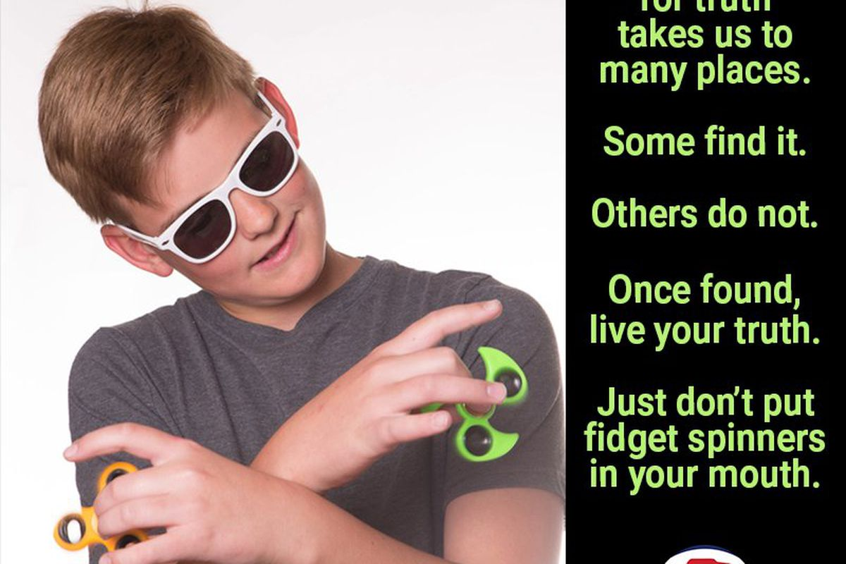 Fidget spinner warning over choking and fire safety concerns in US