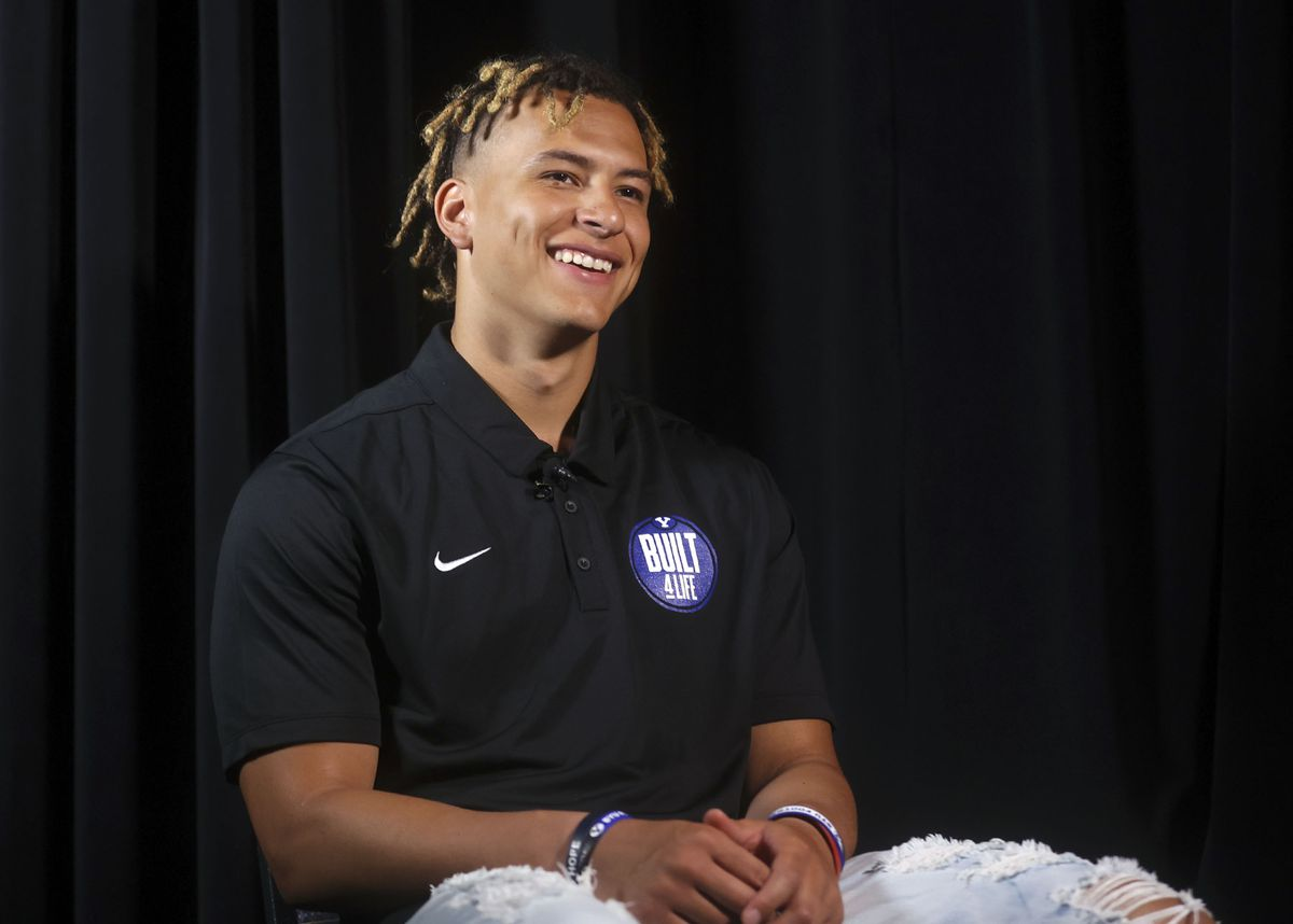 """BYU safety Chaz Ah You says he is in a """"good place"""" now after dealing with injuries and mental health issues last year."""