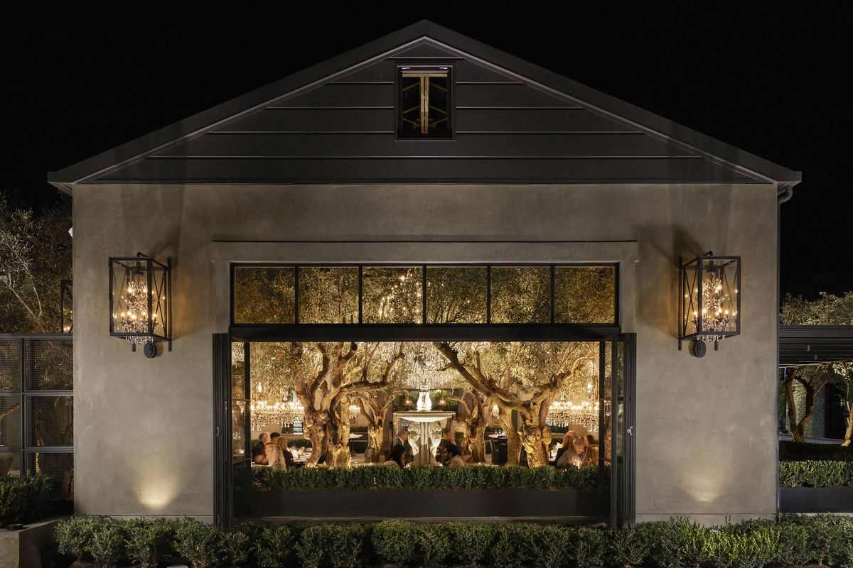 Rh Yountville Combines Food Wine And